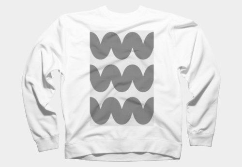 Knitted Waves Crewneck By Julianajuice Design By Humans