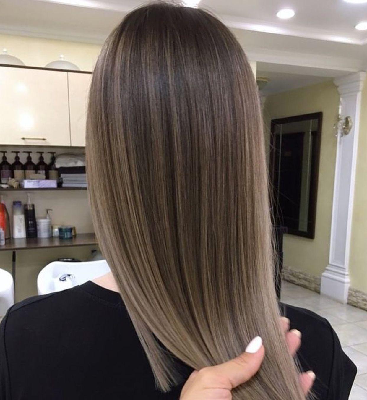 Credit Unknown Hair Color Flamboyage Brown Hair Balayage Hair Styles