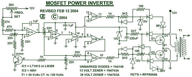 1000W Power Inverter Circuit Projects to try 1000 watt inverter