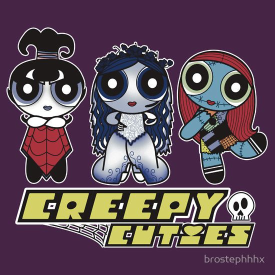 """Creepy Cuties"" T-Shirts & Hoodies by brostephhhx 