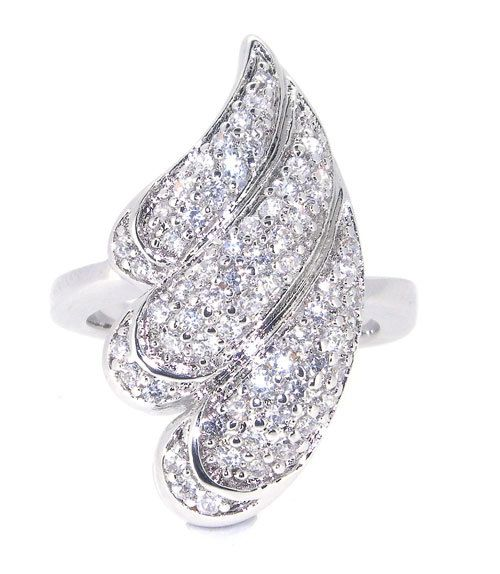 WoW Seashell(tonna selacosa) Designed Ring with finest setting