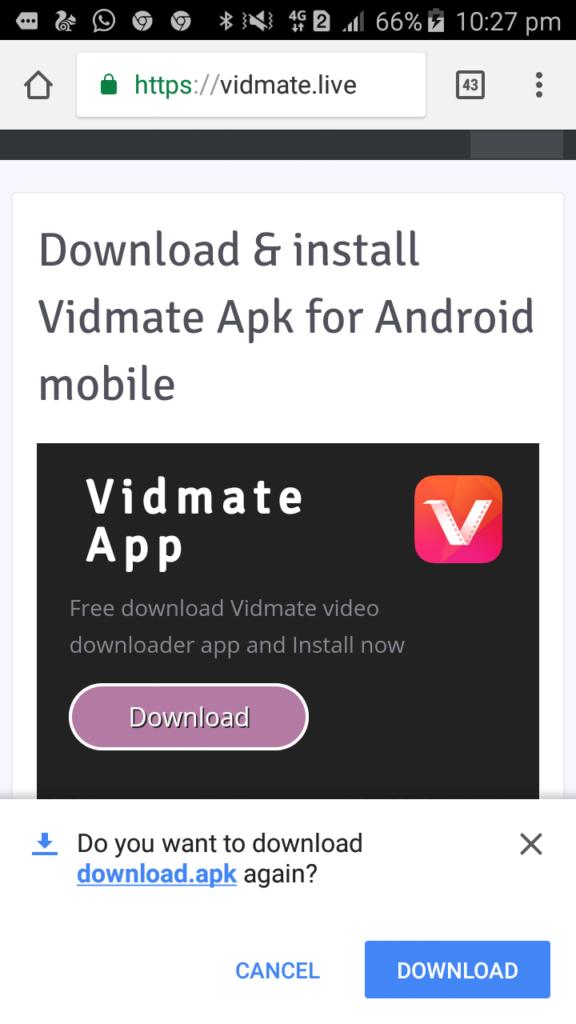 Download Vidmate Video Downloader App Download App Download Free App