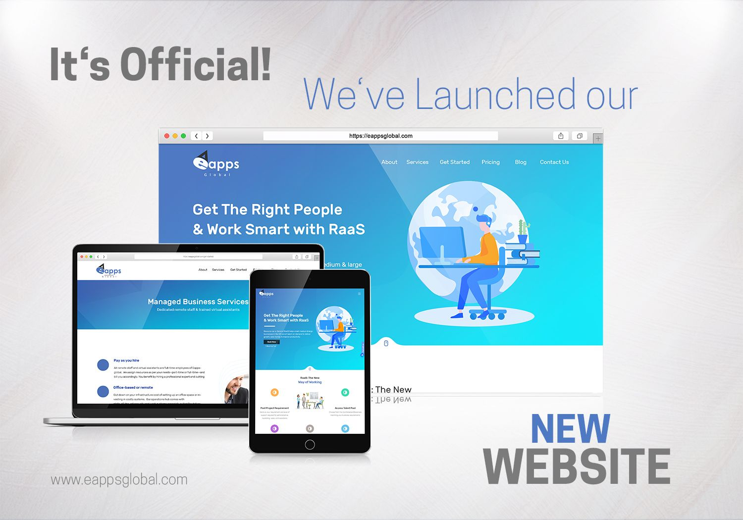 Yes, It's Official! we've LAUNCHED our new website. Visit