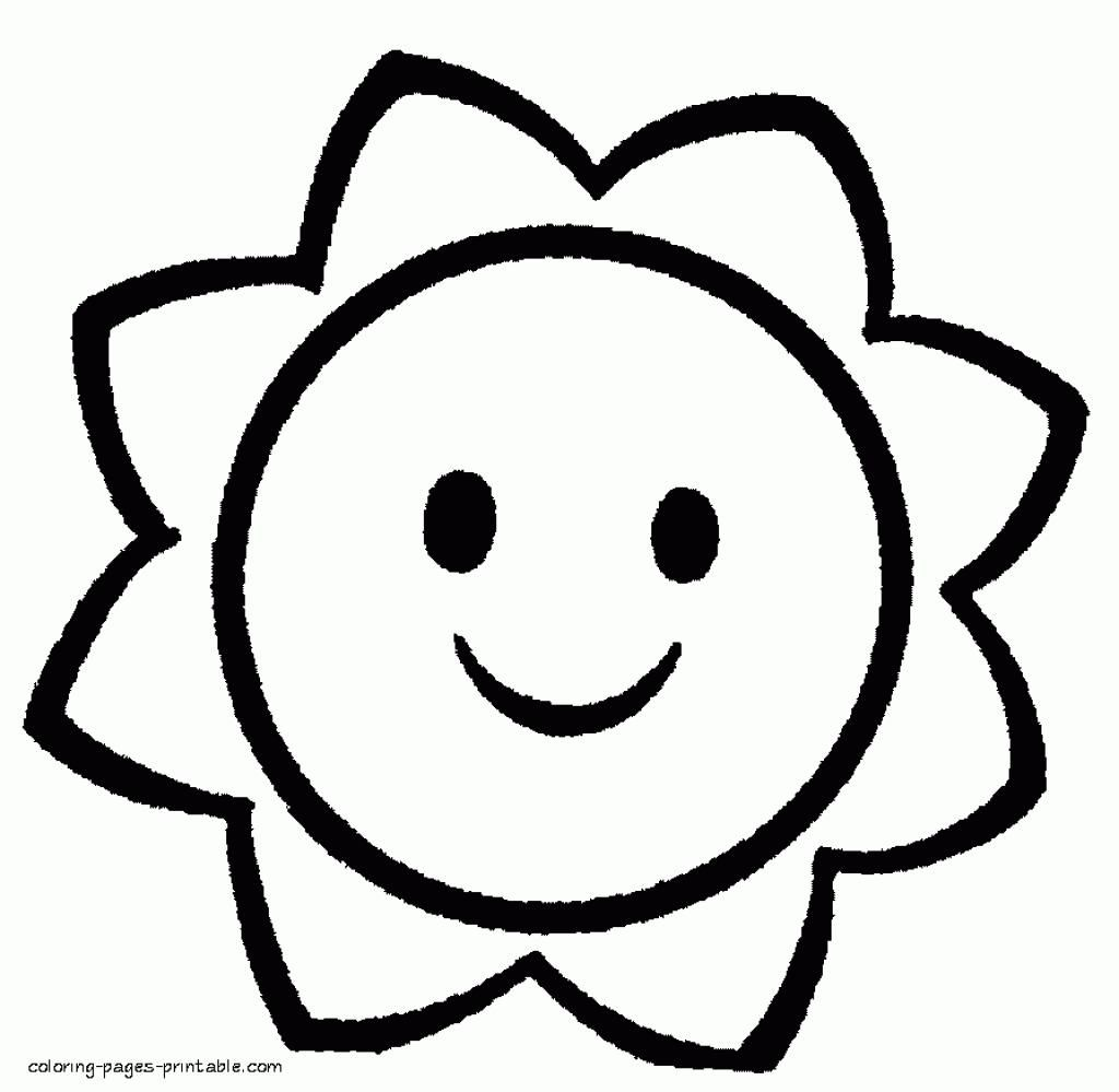 16 Free Printable Colouring Pages For Toddlers In 2020 Easy Coloring Pages Preschool Coloring Pages Free Coloring Pages