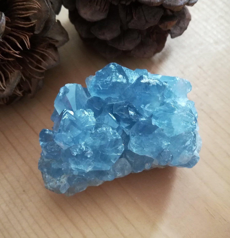 Celestite Crystal Cluster Sky Blue Celestine Cluster Mineral Specimen 8 5 Ounces 241 Grams For Sale By Crystals Celestite Crystal Crystal Cluster Crystals