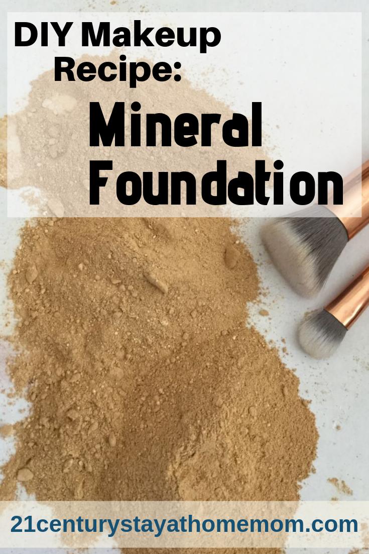 DIY Makeup Recipe Mineral Foundation in 2020 Diy makeup