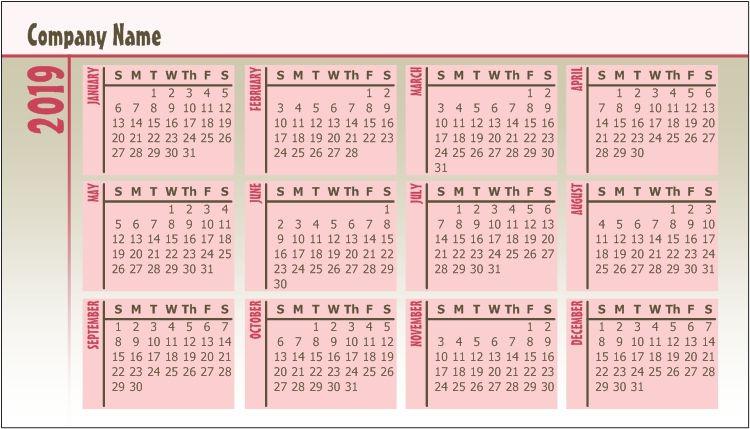 Pocket Calendar Pocket Calendar Simple Wallet Pocket
