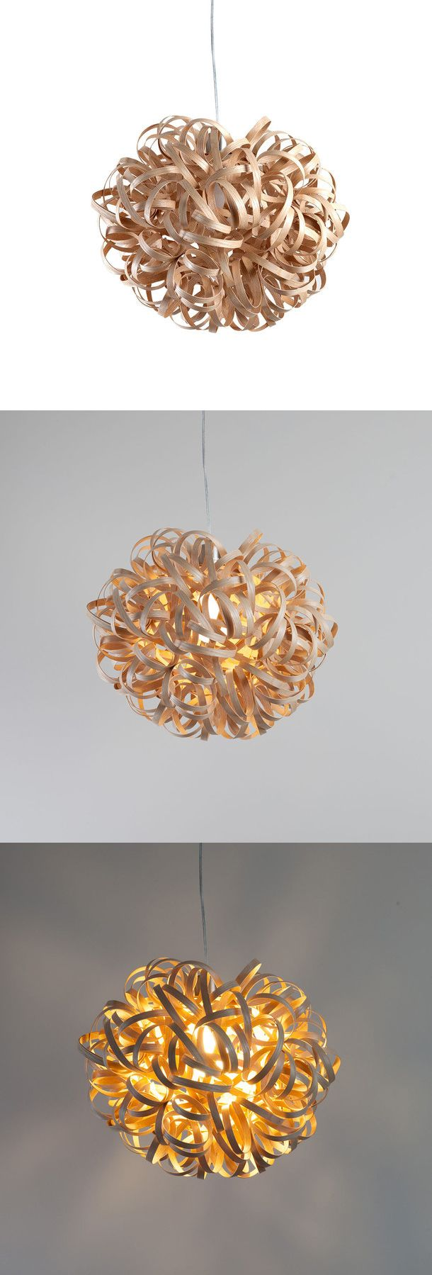Pendant No 1 Ash Medium By Tom Raffield Consists Of Over 260 Feet Of Sustainably Sourced Ash Which Has Been Woven Diy Lamp Light