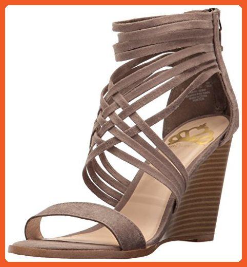 3d203da48f Fergalicious Women's Hunter Wedge Sandal, Doe, 7.5 M US - Sandals for women  (*Amazon Partner-Link)