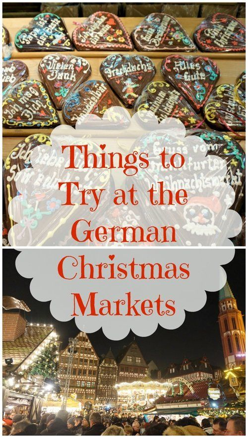 Delicious things to try at a traditional German Christmas market