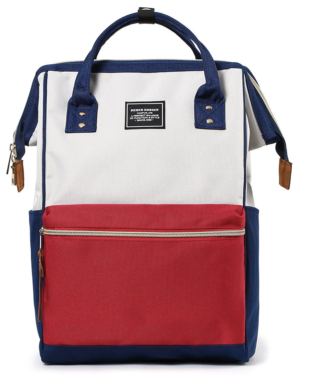 Amazon : Stylish Travel Diaper Bag Laptop Backpack Light Weight Just $17.39  W/Code (