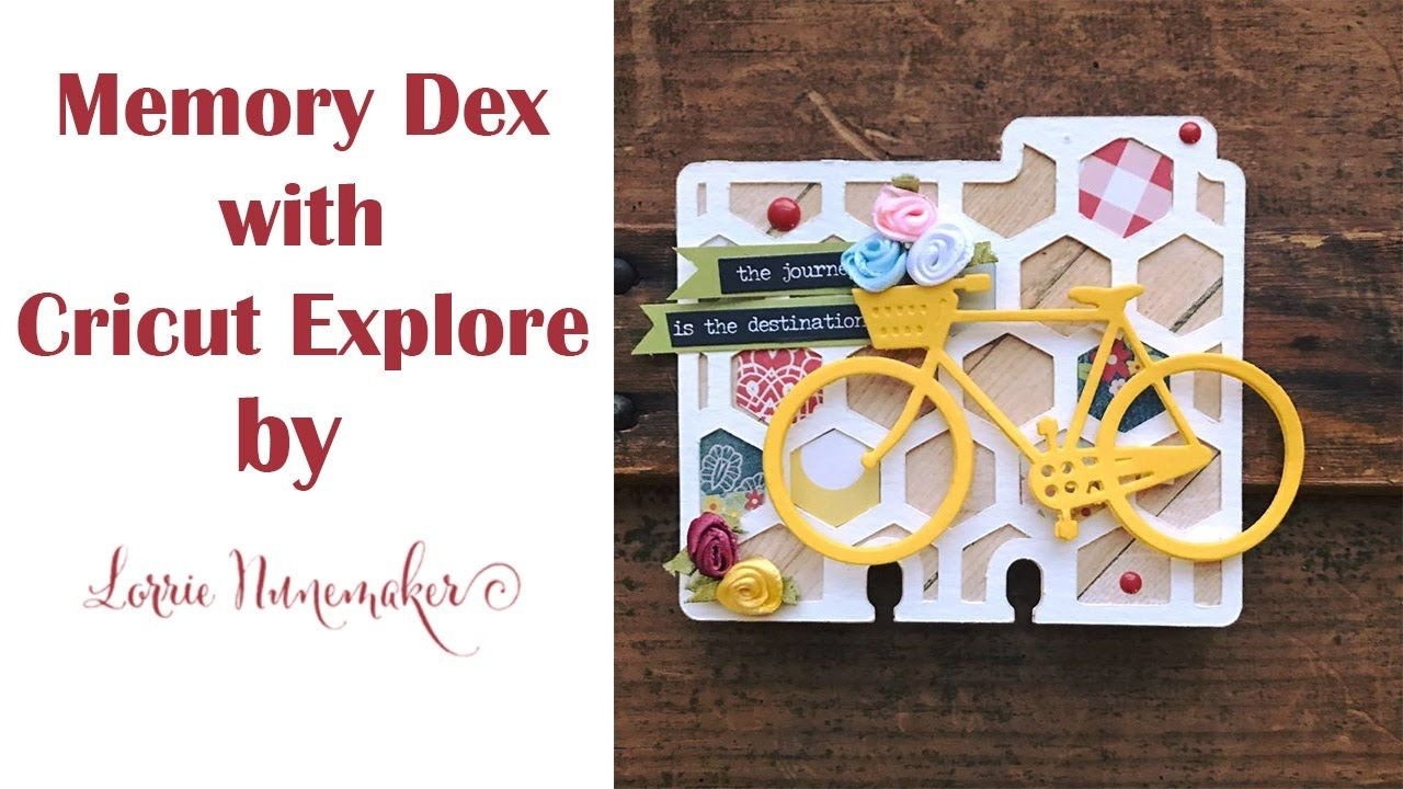 Good Cricut Card Making Ideas Youtube Part - 8: Memory Dex Card With Cricut Explore