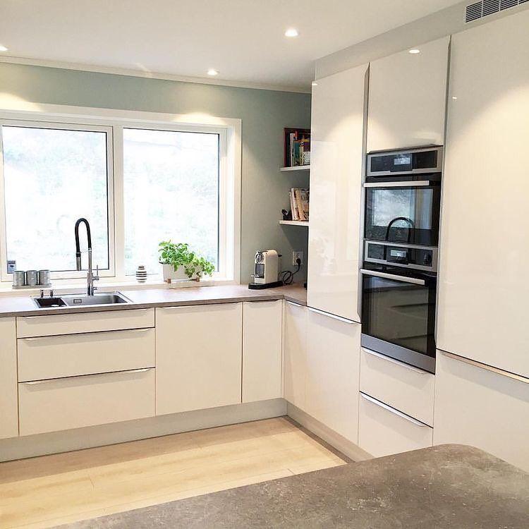 Bild könnte enthalten: Küche und Innenbereich #wohnungküche