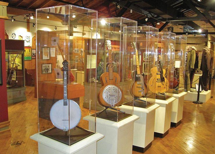 Delta Blues Museum guitars