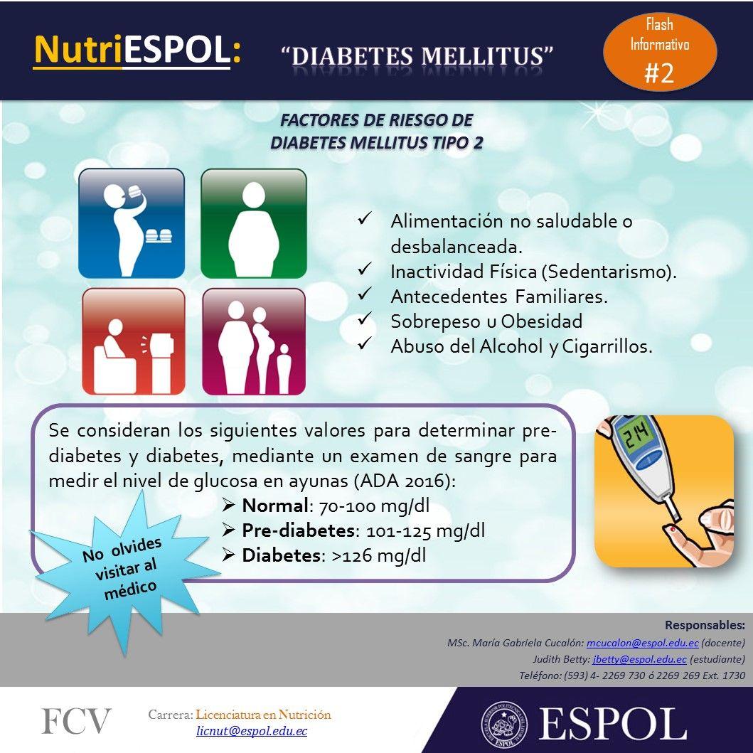 FlashInformativo No. 2: Factores de Riesgo de Diabetes