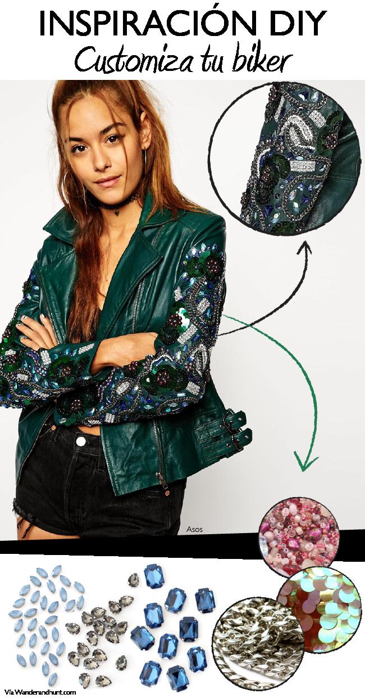 c4364e6f391f Inspiración DIY  customiza tu chaqueta de cuero (Dare to DIY ...