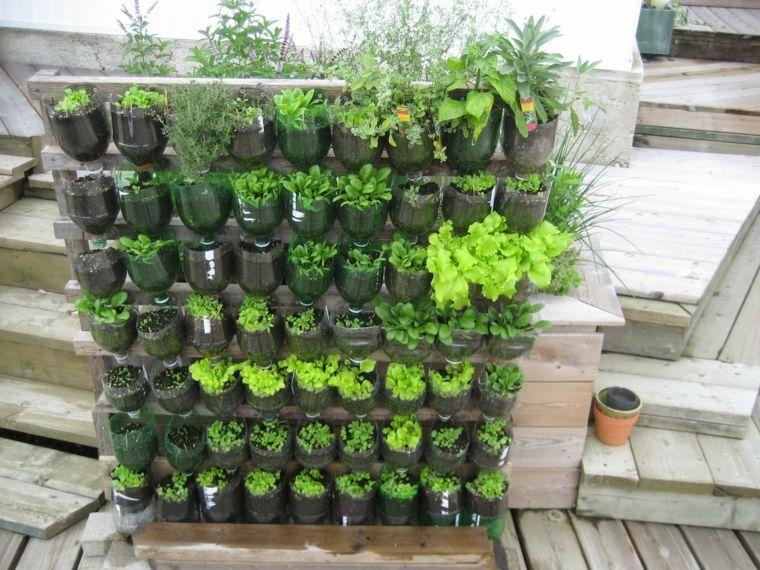 ideas para realizar jardines verticales - Jardineras Verticales