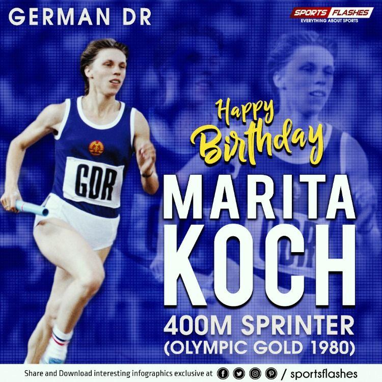 Happy Birthday To Marita Koch Latest Sports News Sport Radio Sports