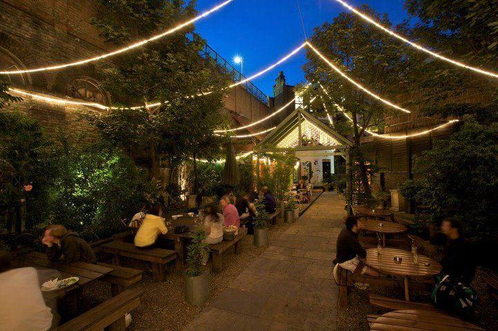 Garden Bar Grill Notting Hill Ldn In The Summer