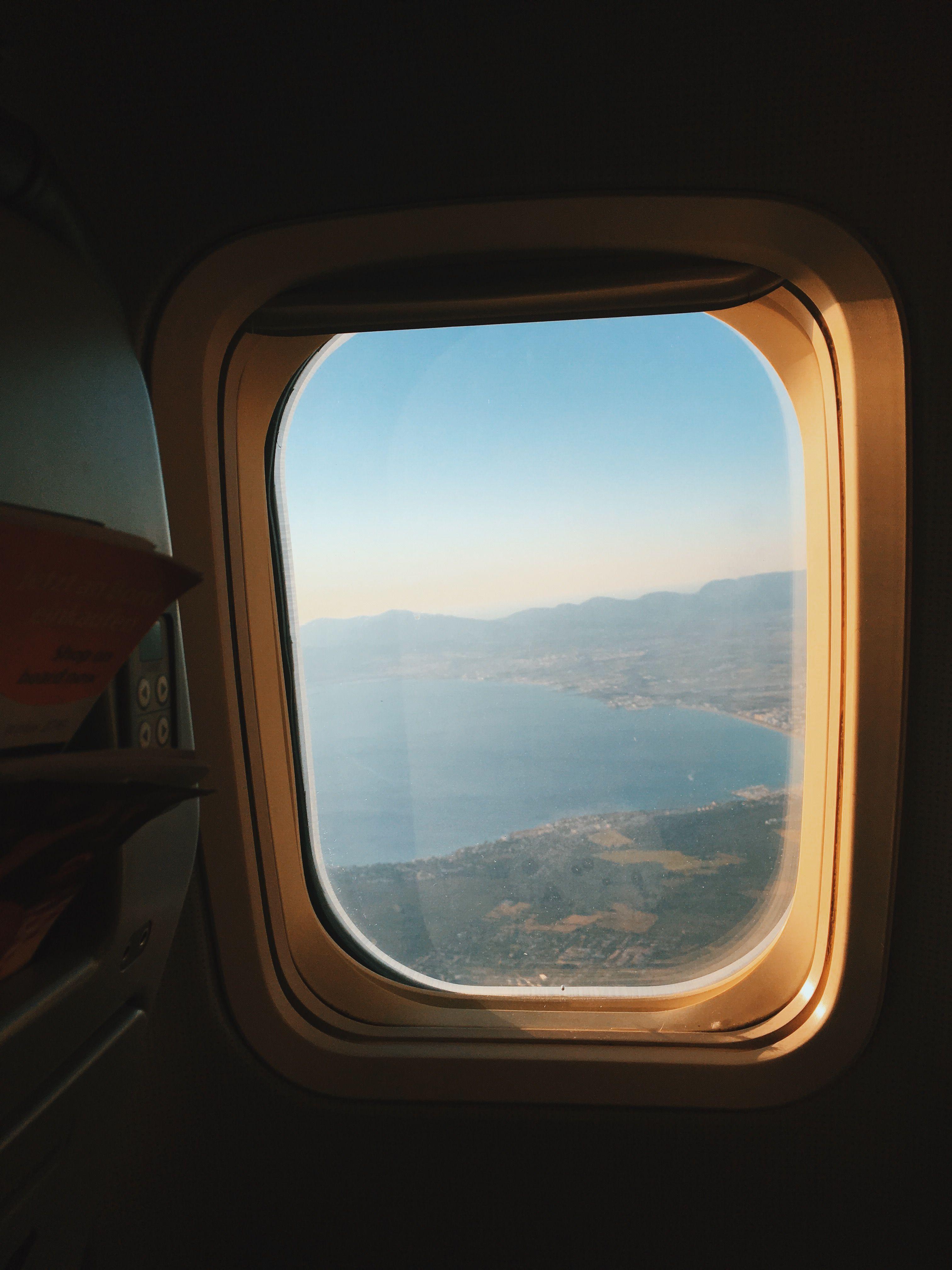 Airplane Window Seat Airplane Window Travel Light Packing
