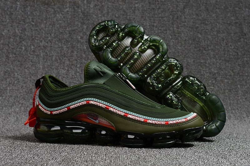 Cheap Nike Air Max 97 VaporMax 2018 KPU Jungle Green Red White