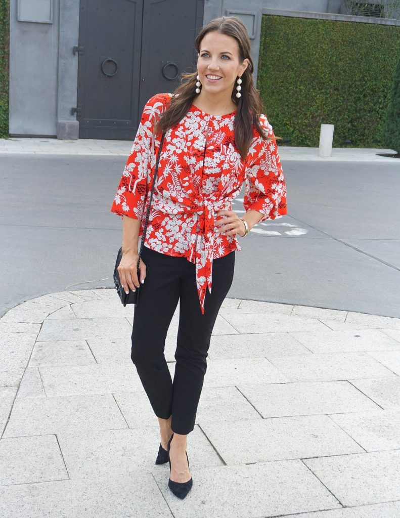 Watch - How to orange wear floral pants video