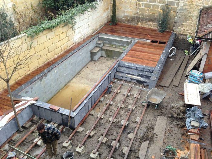 Pool Project Construction Extérieur Pinterest Minis, Piscines
