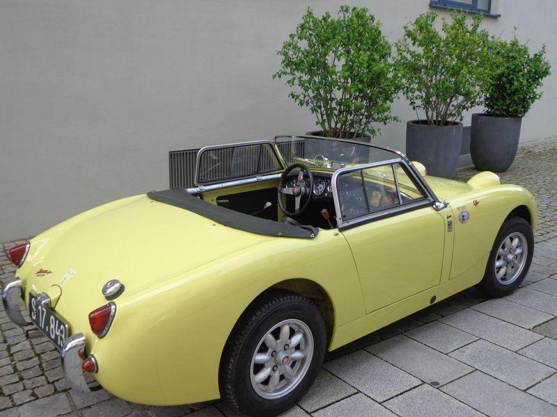 Austin Healey Sprite MK 1 von 1958 - auch wieder auf dem Roßfeld im September zu sehen!