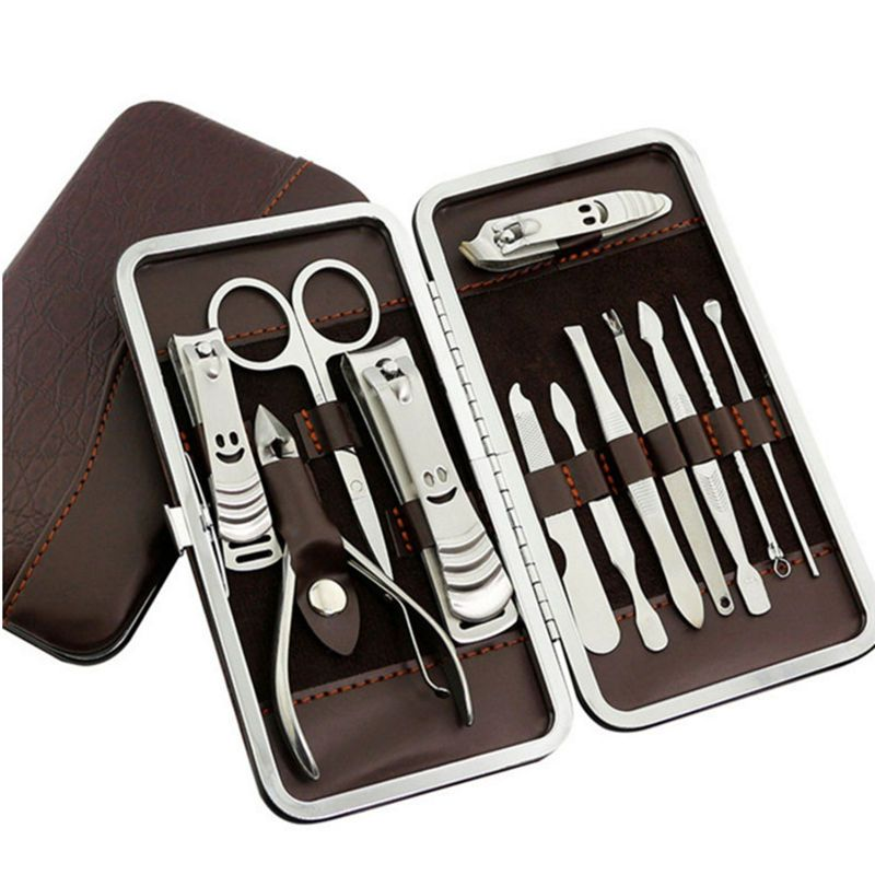 12pcsset nail clipper set for manicure professional plier finger visit to buy nail clipper set for manicure professional plier finger nail art pedicure tools scissors nail clipper kit prinsesfo Choice Image