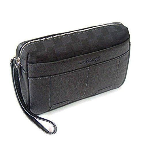 462f84a24ed1b Comprar Ofertas de b7736 nuevos hombres de negocios embrague muñeca Bolsa  Cartera de lujo bolso de mano bolso Tote Bag negro negro barato.