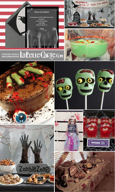 ideas para halloween zombie