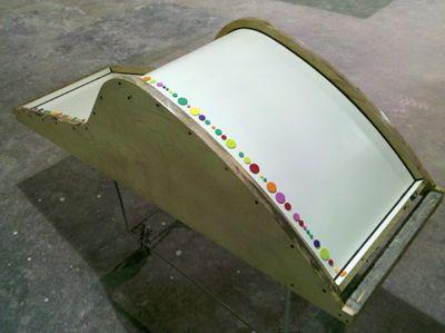 Concrete Lounge Chair Mold With Dots Concrete Furniture Concrete Concrete Design