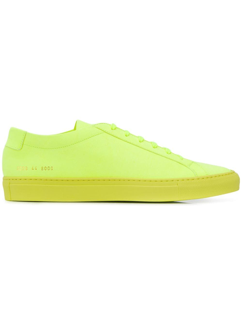 Common Projects Fluorescent Yellow