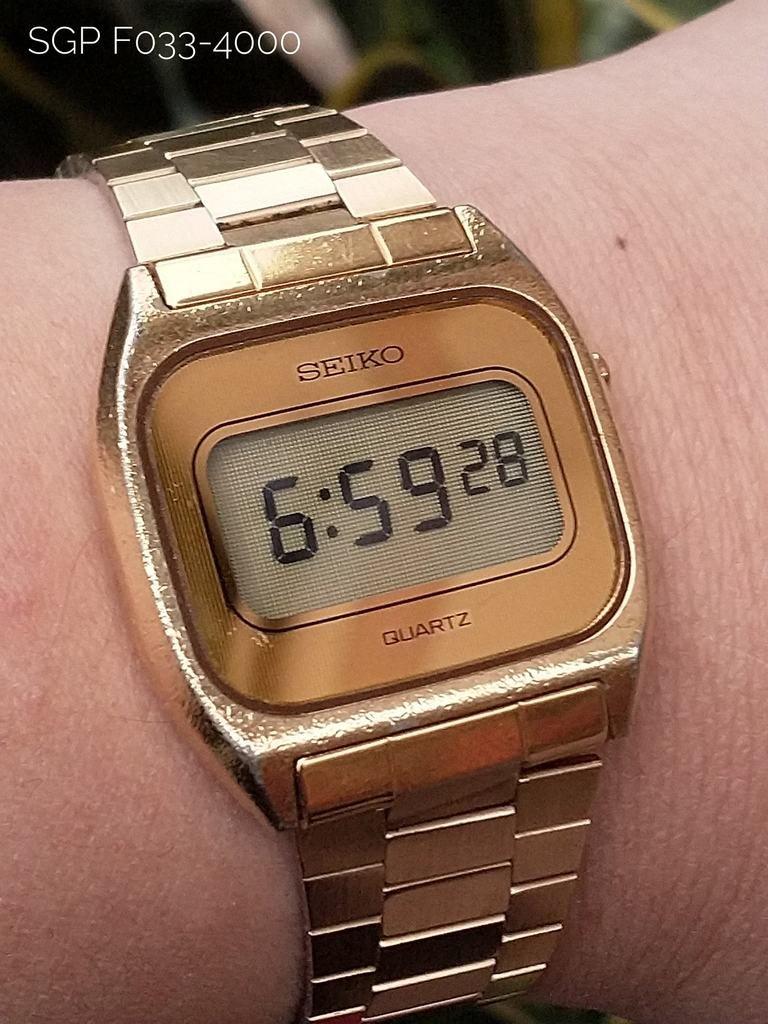 94778d8b7830 Seiko SGP F033-4000 – Coolest Vintage Reloj De Cuerda