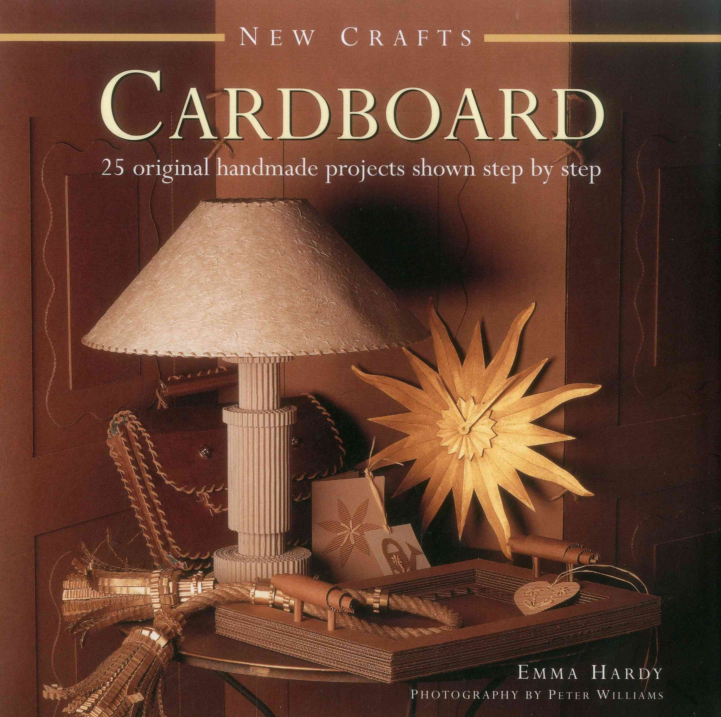 How To Make A Decorative Book Cover ~ Cardboard original handmade projects shown step by step