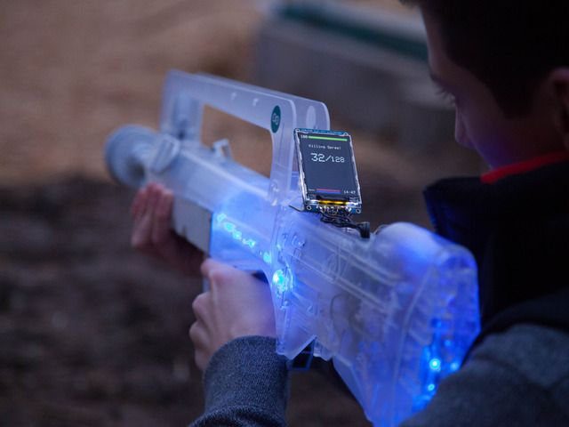 Skirmos Open Source Laser Tag By Skirmos Kickstarter The Most Advanced Open Source Laser Tag System Create Your Own Indoo Tag System Laser Tag Cool Stuff