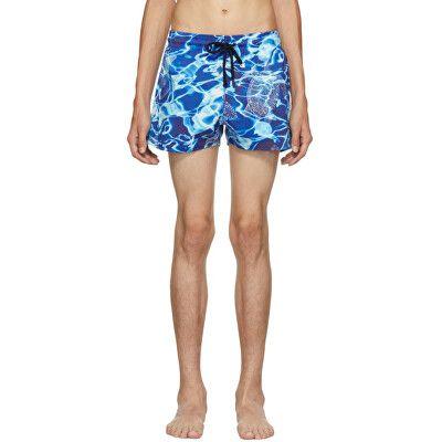b8c7ca42ad Vilebrequin Designer Blue Man Splash Swim Shorts | Avivey (Style ...