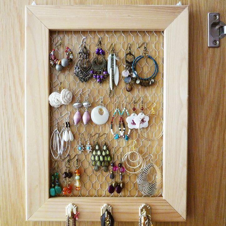 Jewelry organizerdisplay DIMyself Someday Pinterest Jewellery