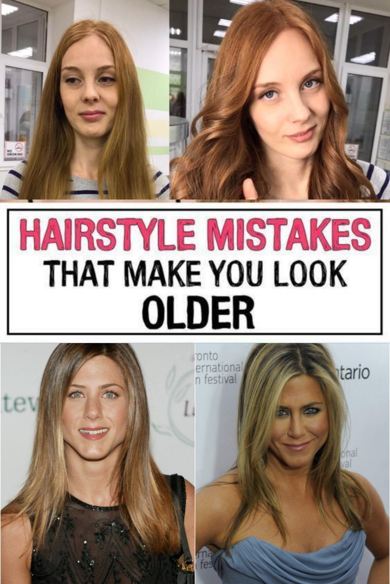 11 Hairstyle Mistakes That Are Aging You In 2020 Hairstyle Hair Mistakes Mom Hairstyles
