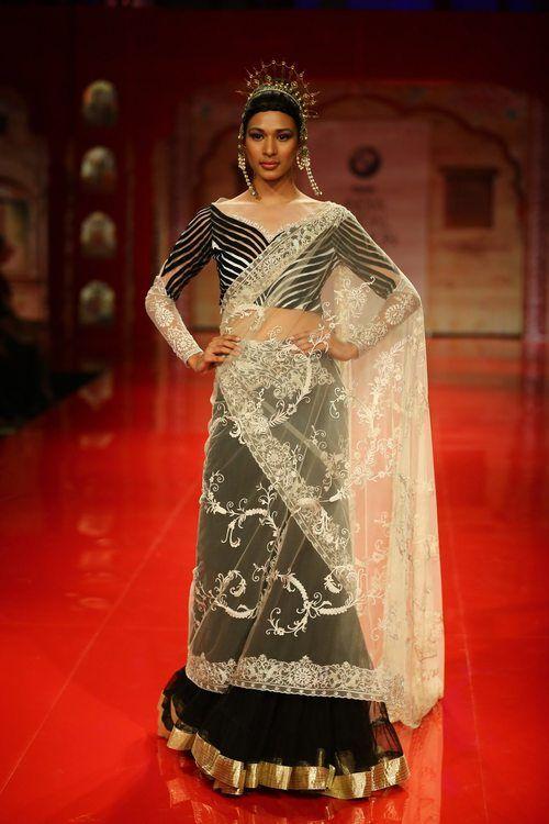 BMW India Bridal Fashion Week 2014 in association with AZVA at Suneet Varma's show at DLF Emporio