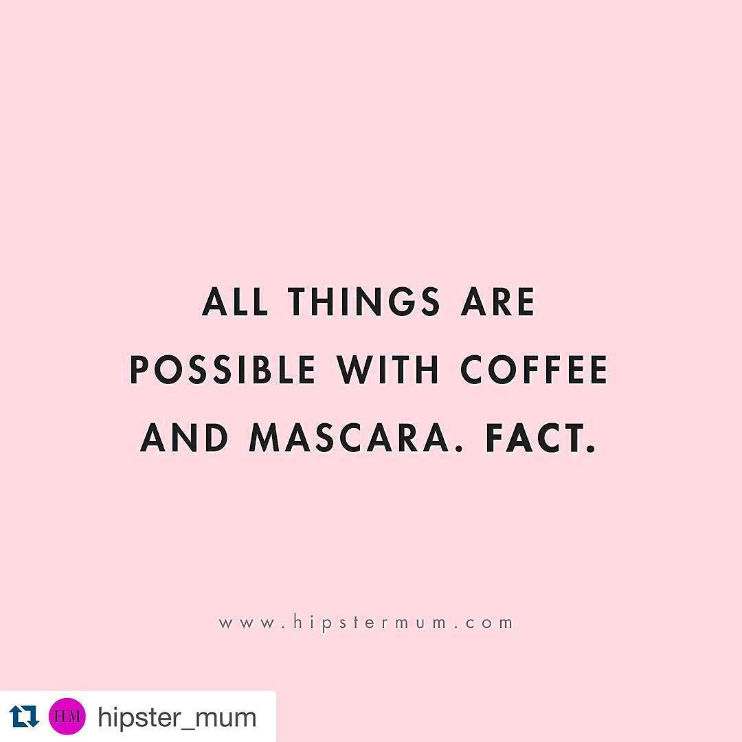 ...Or lipstick but that's really all you need to kick goals everyday. #makeitwork #getupandgo #instadaily #motivation