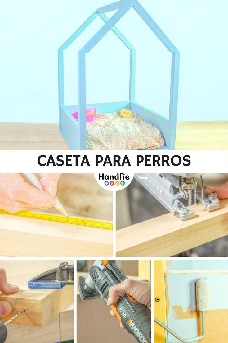 Caseta para el perro | Pinterest | Casetas para perros, Bricolaje ...