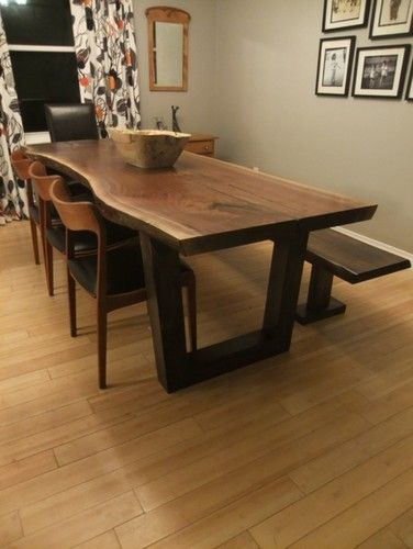 Awesome Live Edge Tables Toronto Ontario Slab Table   Contemporary   Dining Tables    Toronto   Tree