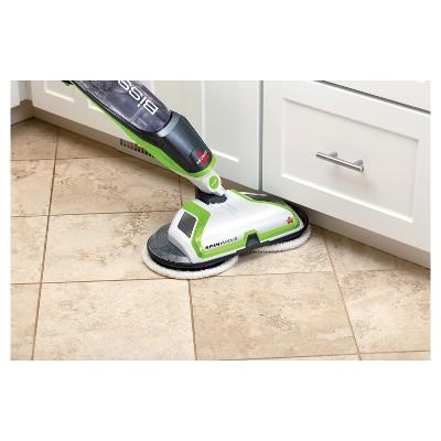 Bissell spinwave powered hard floor mop in 2021 wet mops