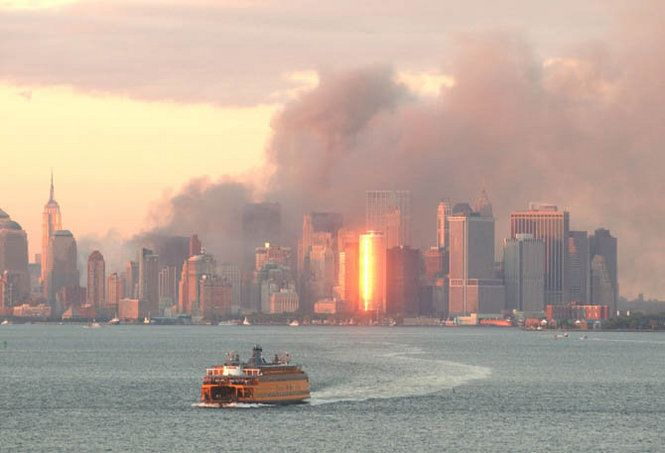 Image result for 9/11 smoldering pictures