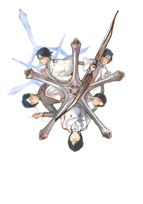 Uryu Ishida Bleach Wall Clock Anime Manga