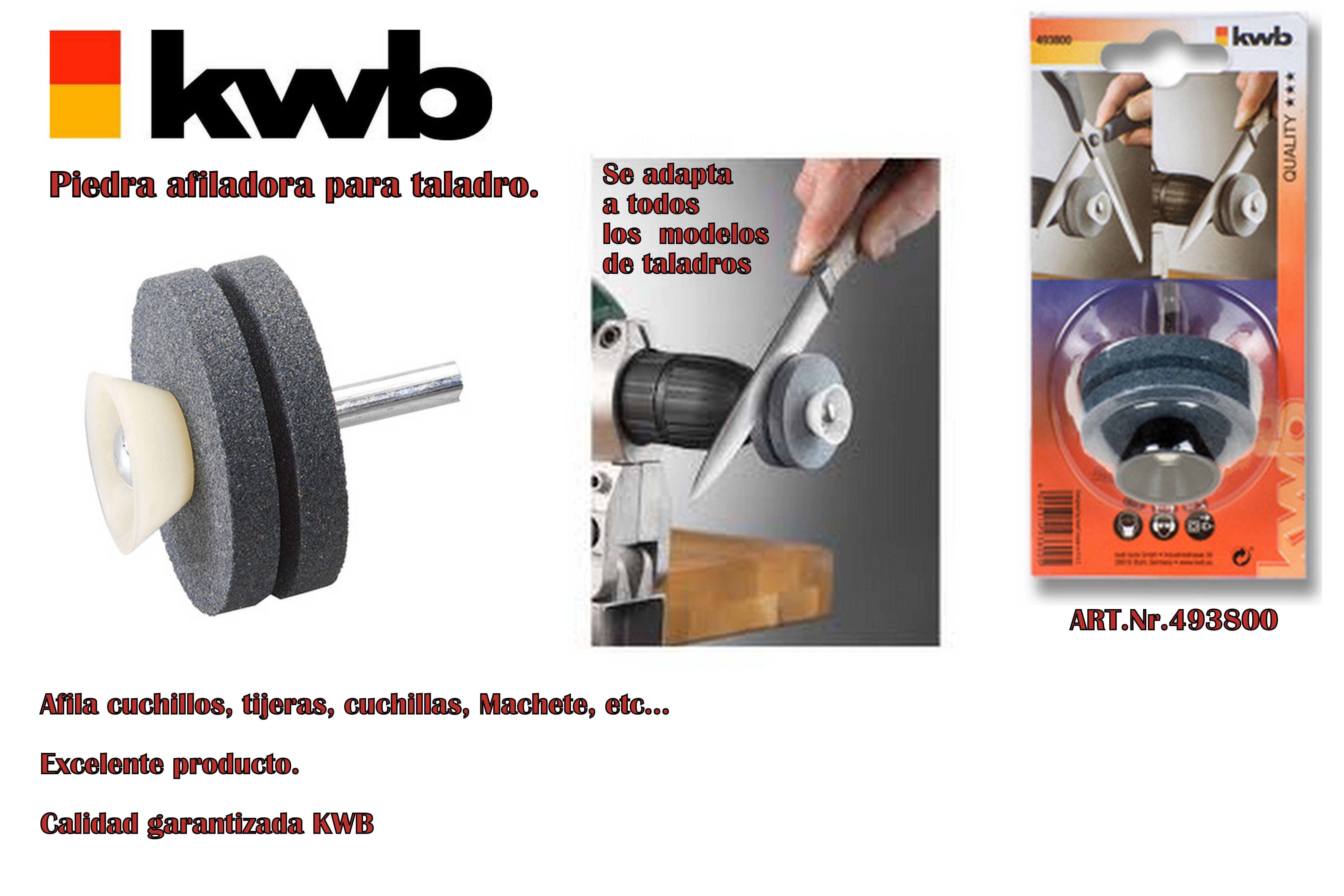 Accesorio Afilador De Cuchillo Tijera Para Taladro Kwb 410 41 Afilador De Cuchillos Cuchillos Taladro