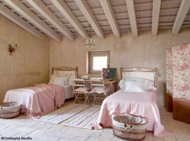 J\'adooore ♥♥♥ Chambre double pour filles - campagne française ...