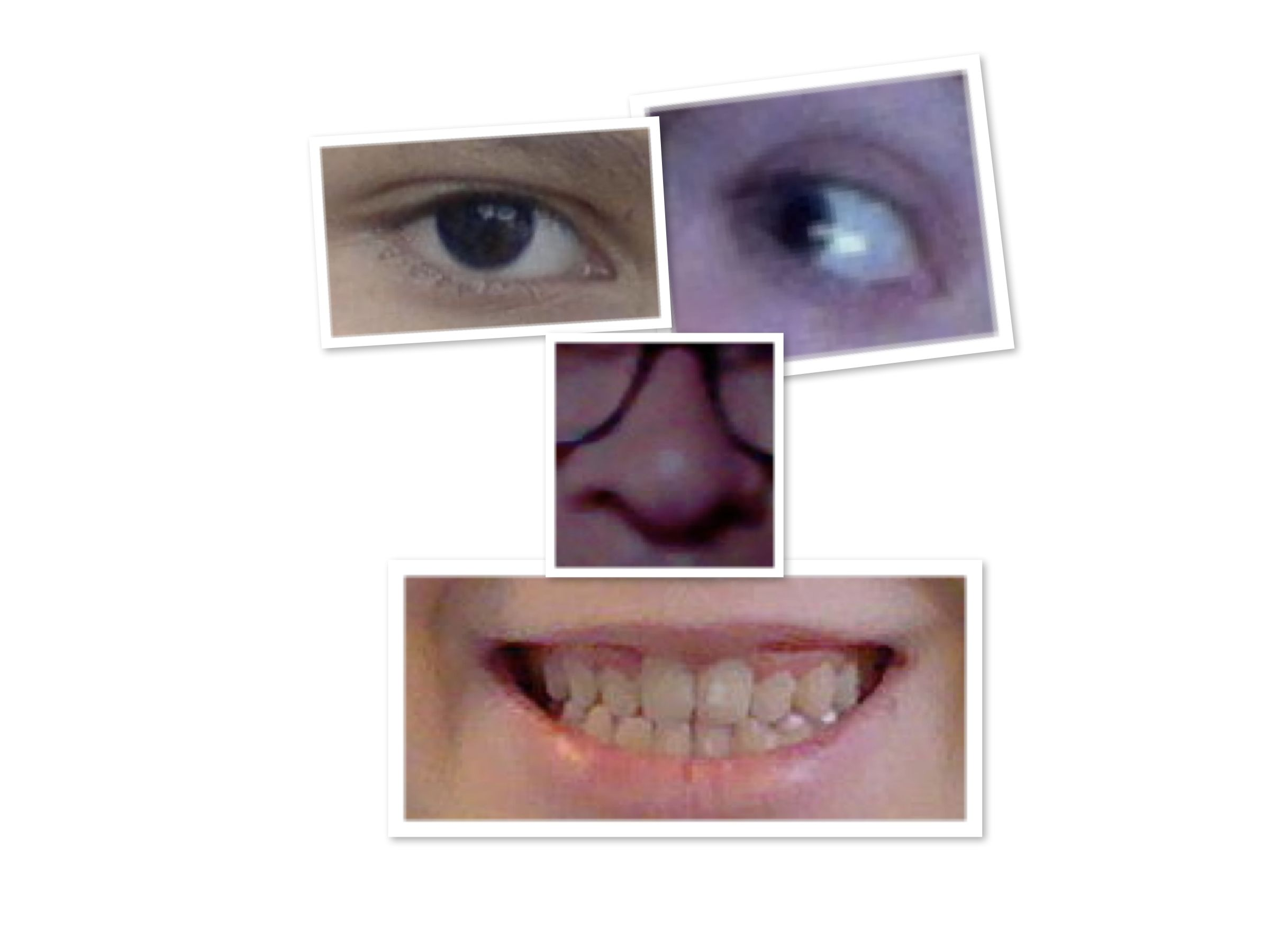 my face collage