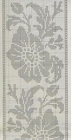 Risultati Immagini Per Burda Uncinetto Filet Crochet Crochet